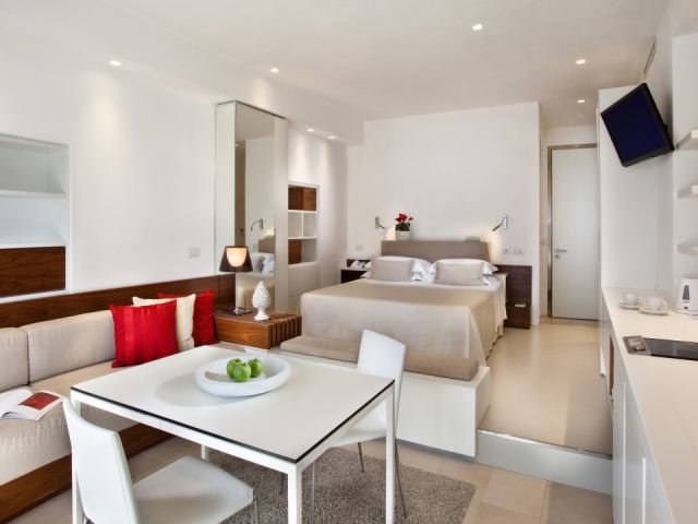 """Spacious, comfortable designer apartment with superb views."""